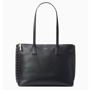 Kate Spade On Purpose Studded Leather Tote ♠️